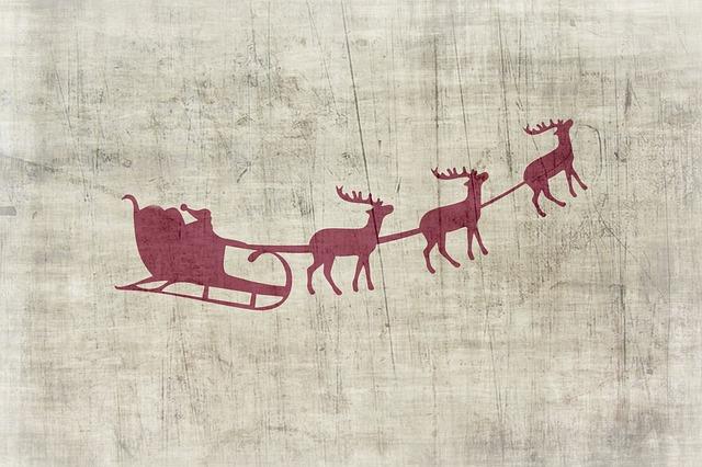 Christmas, Background, Christmas Motif, Santa Claus