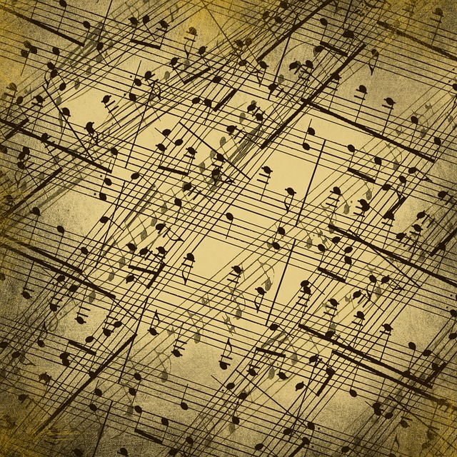 Background, Music, Nuts, Sheet Music, Classic