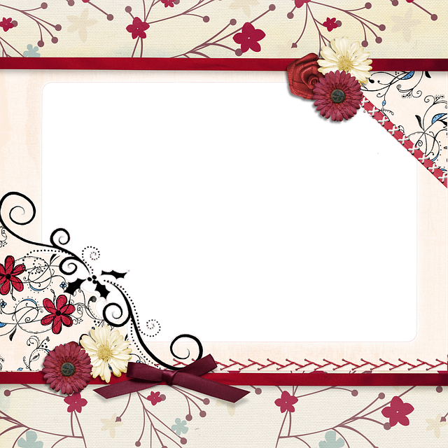 Background, Scrapbook, Page, Dragonfly, Square