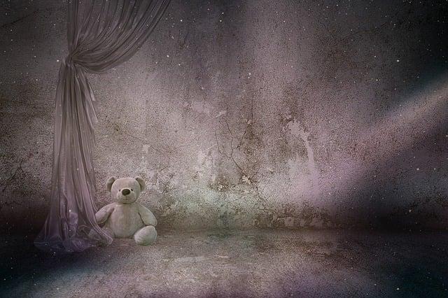 Texture, Background, Bear Teddy, Toys, Keller, Curtain