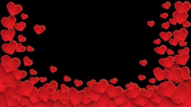 Free Photo Frame Wallpaper Heart Love Heart Background Max Pixel