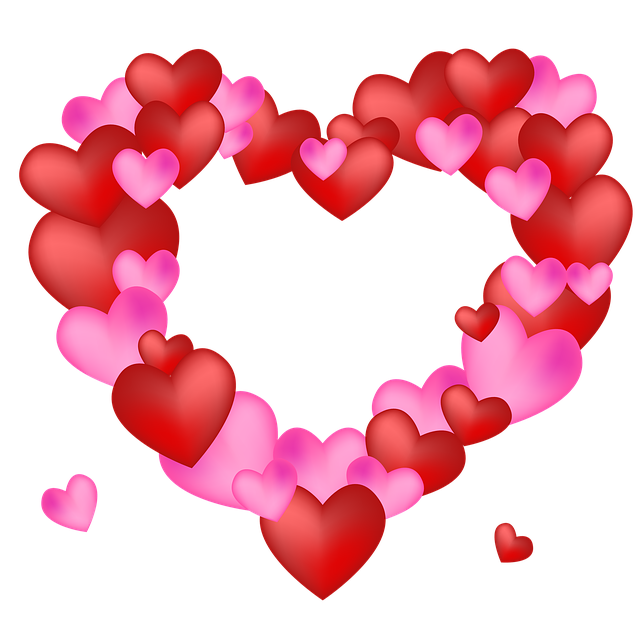 Free photo Love Heart Wallpaper Valentine Background Heart - Max Pixel