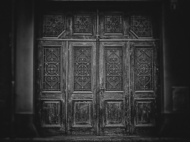 Wallpaper, Background, Gate, Door, The Secrets Of