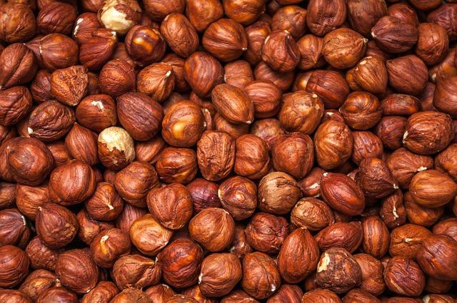 Hazelnuts, Protein, Healthy, Background, Wallpaper