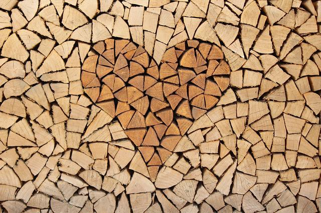 Background, Wood, Heart, Love, Backgrounds