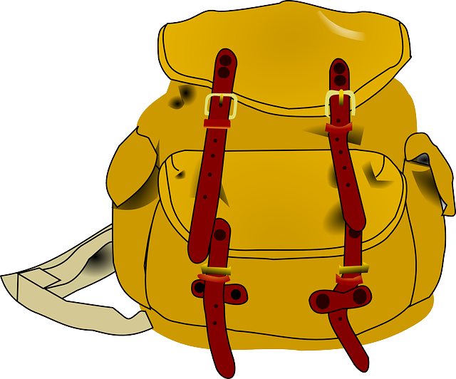 Backpack, Brown, Sack, Bag, Hiking, Backpacking