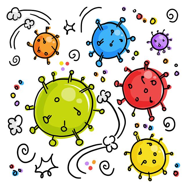 Coronavirus, Viruses, Germs, Bacterial, Bacterium