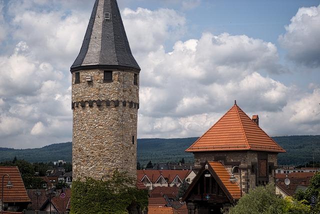 Bad Homburg, Germany, Medieval, Tower