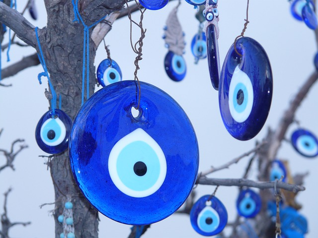 Nazar Amulet, Amulet, Nazar, Bad Look, Blue, Black Eye