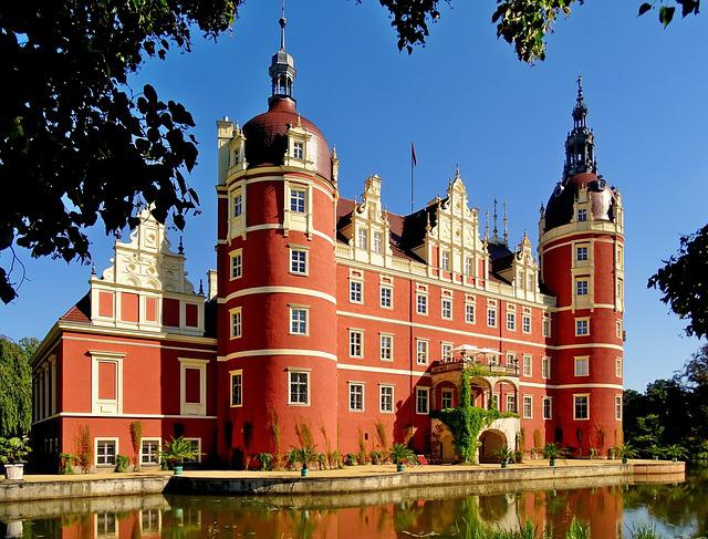Germany, Bad Muskau, World Heritage, Places Of Interest