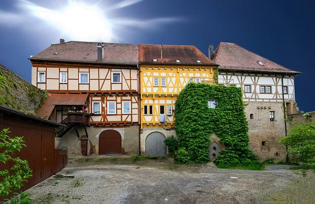 Talheim, Baden Württemberg, Germany, Castle