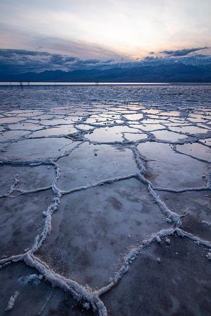 Death Valley, Bad Water, Dry, Badwater, Salt Lake, Salt