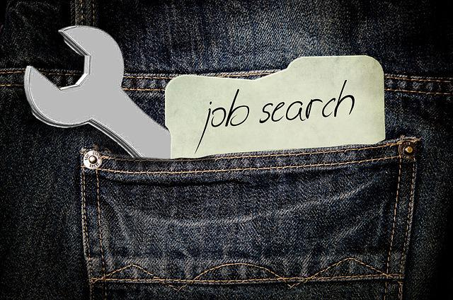 Pants, Bag, List, Wrench, Job, Search, Unemployed