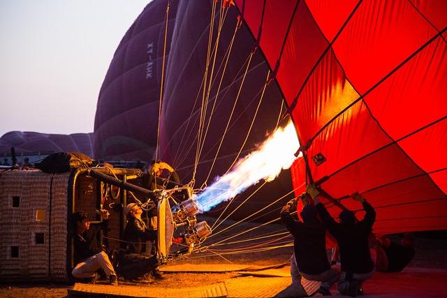 Burma, Bagan, Hot Air Ballooning