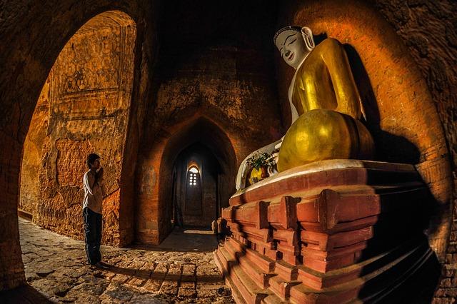 Myanmar, Bagan, Burma, Asia, Travel, Landscape, Buddha