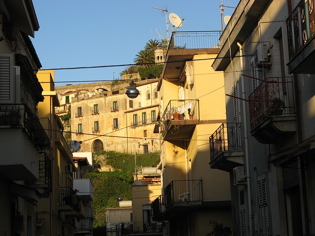 Country, Bagnara Calabra, Calabria, Ascent, Sun