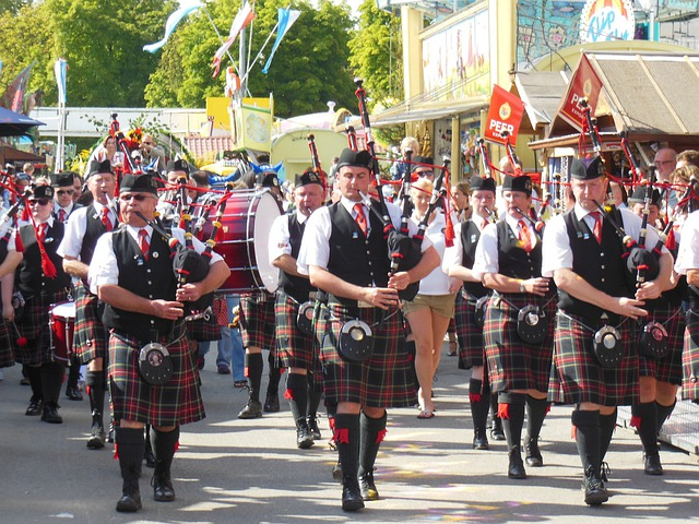 Move, Scots, Bagpipes, Pageant, Musician