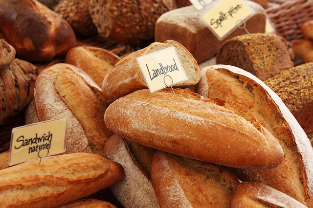 Background, Baguette, Baked, Bakery, Bread, Brown
