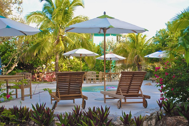 Staniel Cay Yacht Club, Pool, Exumas, Bahamas, Resort