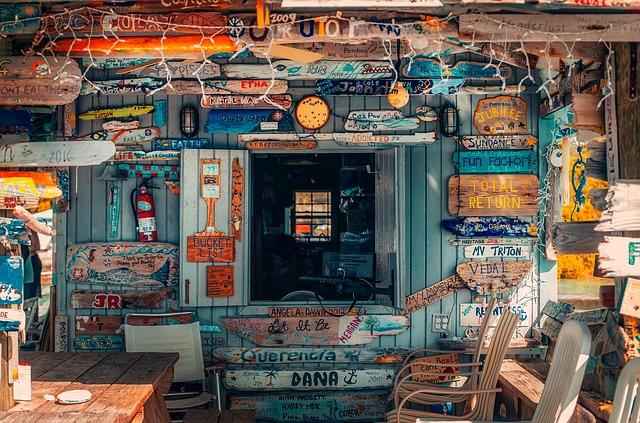 Bahamas, Shack, Signs, Old, Holiday, Vacation, Hut