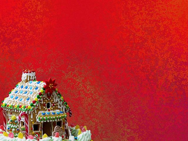 Christmas, Gingerbread House, Christmas Time, Bake