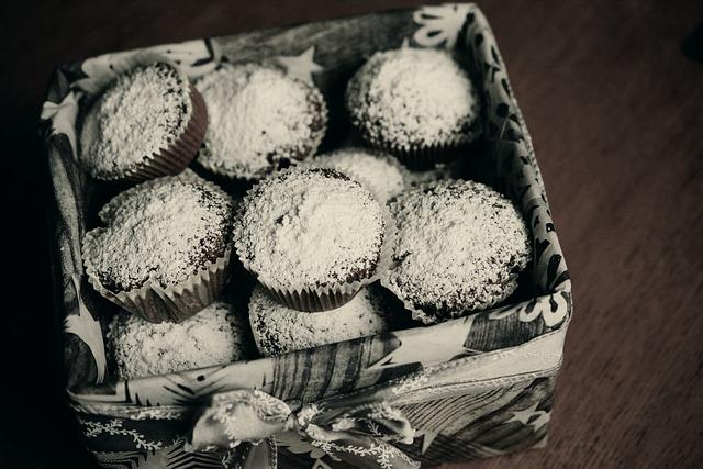 Muffins, Schokomuffins, Pastries, Cupcake, Bake