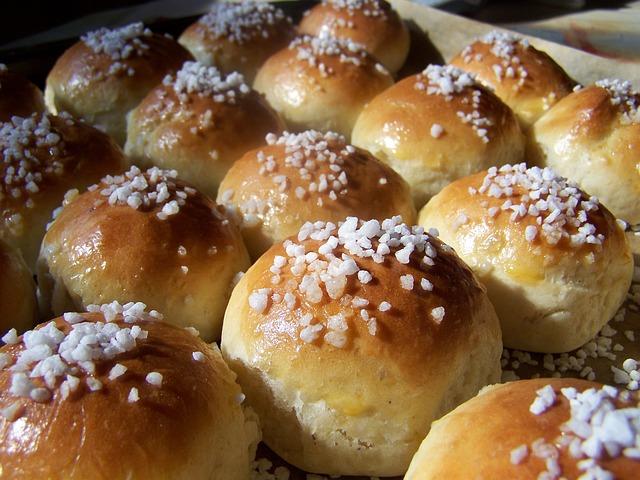 Yeast Biscuits, Finnish Cuisine, Bake