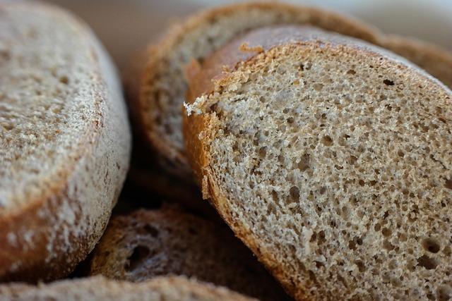 Bread, Disc, Slice Of Bread, Brown Bread, Bakery, Baked