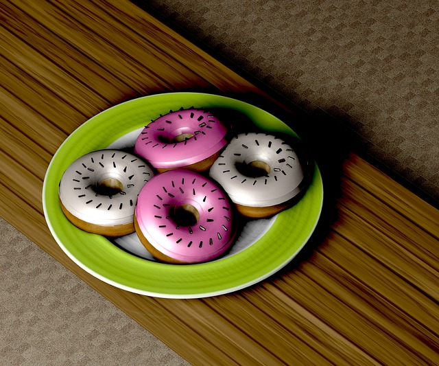 Donut, Pastries, Sweet, Eat, Baked Goods, Streusel
