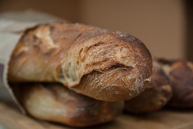 Breads, Chopsticks, Boulanger, Bakery