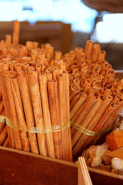 Spice, Cinnamon, Cinnamon Stick, Christmas, Bakery