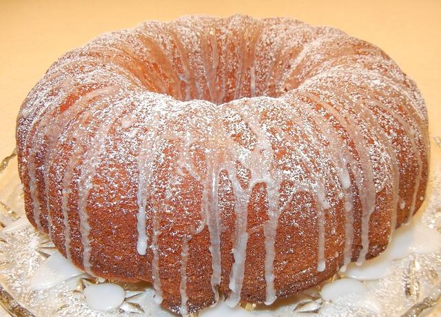 Citrus Cake, Cake, Confectioner Sugar, Baking