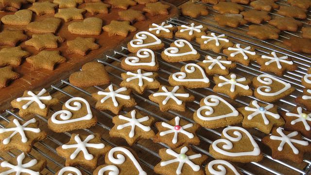 Cookies, Baking, Christmas, Gingerbread, Bake