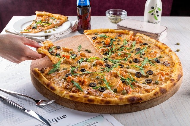 Pizza, Baking, Fast Food, Lunch, Business-lunch