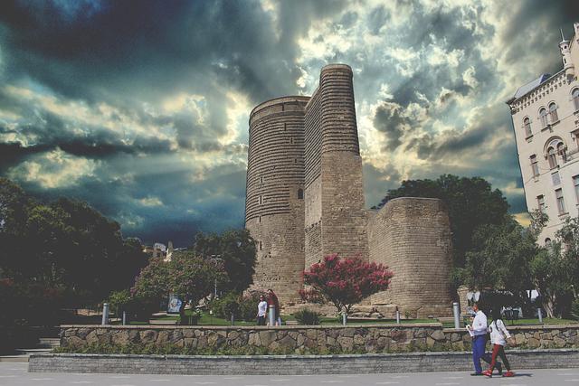 Architecture, Baku, Building, City, Historic, Landmark