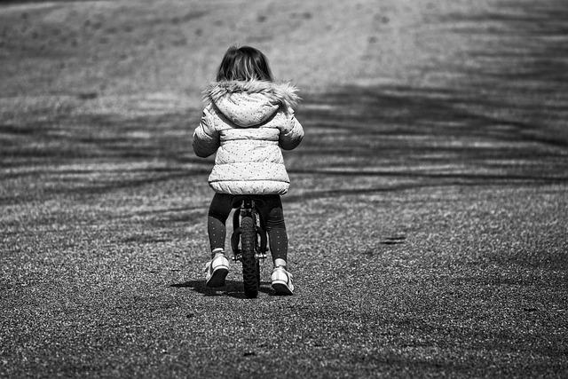 Little Girl, Child, Preschooler, Balance Bicycle