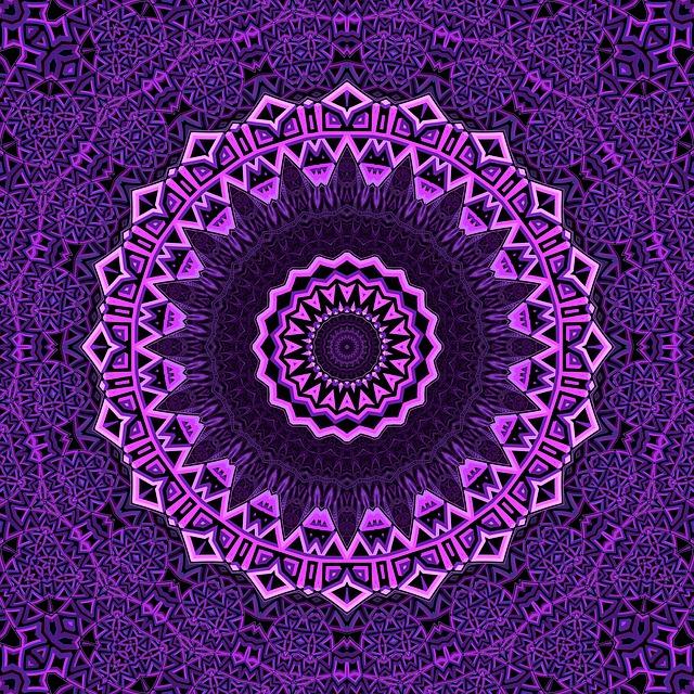 Mandala, Purple, Mandalas, Balance, Digital