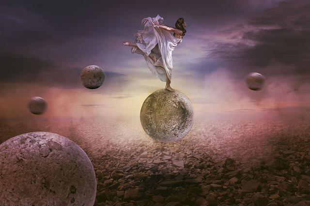 Photoshop Manipulation, Freedom, Balance, Fantasy