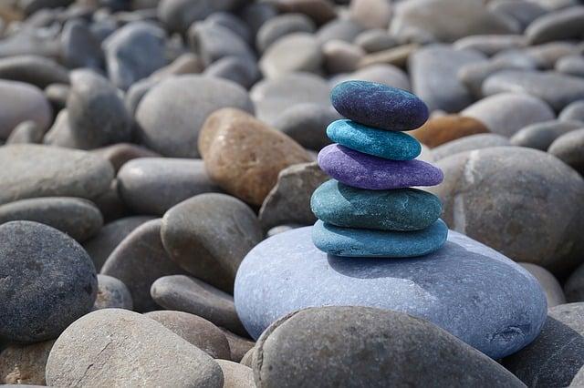 Stones, Meditation, Zen, Balance, Rest, Patience
