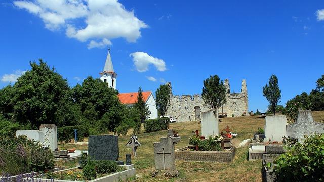 Dörgicse, Old Cemetery, Balaton Uplands