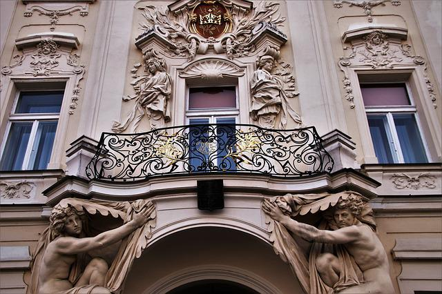 Window, Czech Republic, The Pillars Of The, Balcony