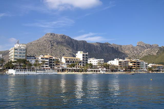 Mallorca, Port De Pollença, Balearic Islands, Waters