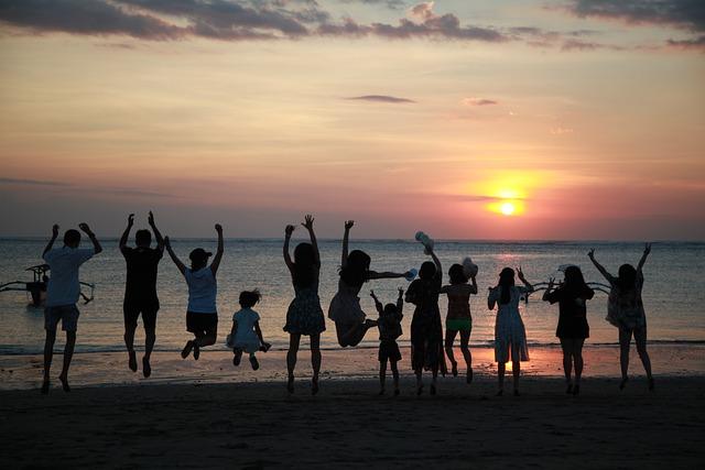 Bali, Sunset, Youth