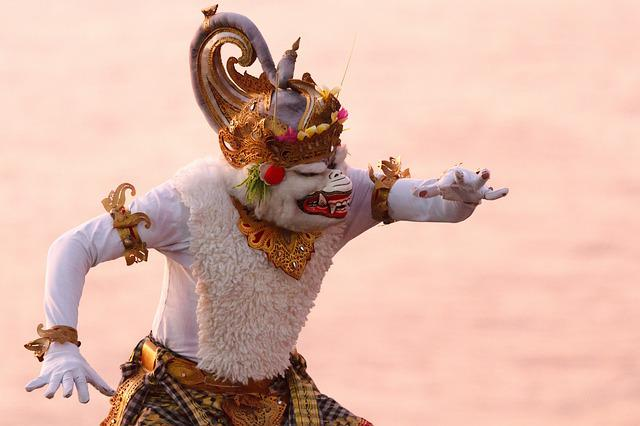 Bali, Monkey, Hanuman, Indonesia, Travel, Traditionally