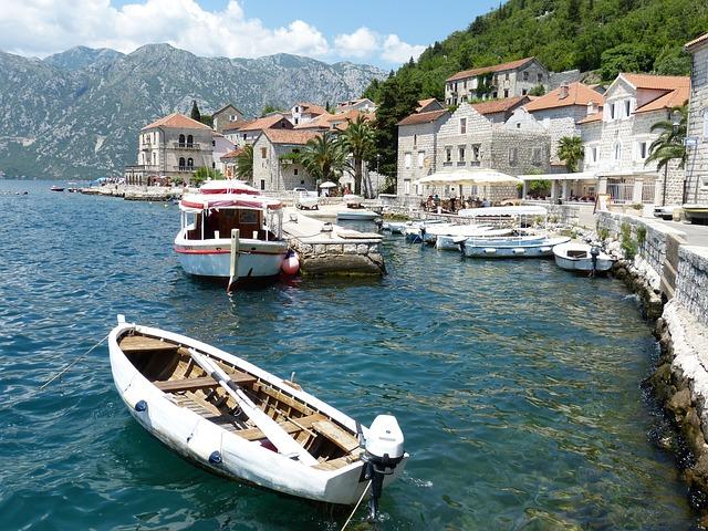 Kotor, Perast, Montenegro, Balkan, Adriatic Sea