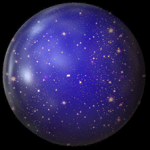 Ball, Star, Universe, Advent, Christmas Eve, Light