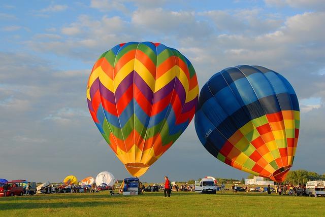 Hot-air Ballooning, Ball, Flight, Air, Color