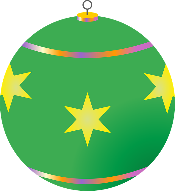 Christmas Decorations, Ball, Christmas Tree, Glaskugeln