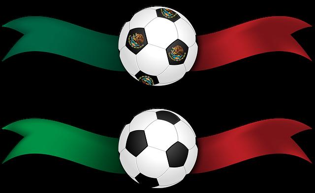 Banner, Ribbon, Football, Soccer, Mexico, Italy, Ball