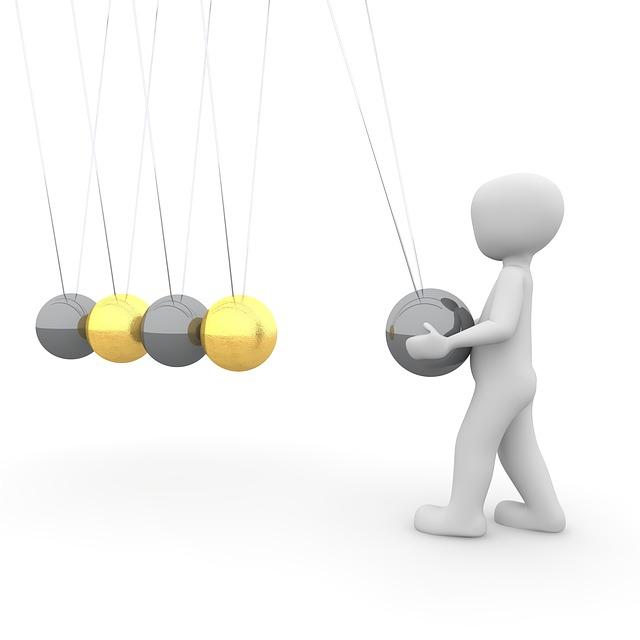Ball, Physics, Swing, Spherical Ball Joint, Pendulum